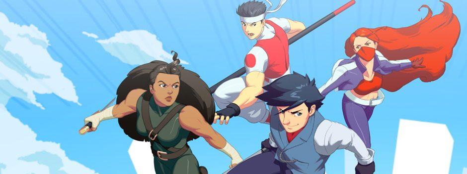 SkyScrappers, la lutte dans la chute, aujourd'hui sur PS4