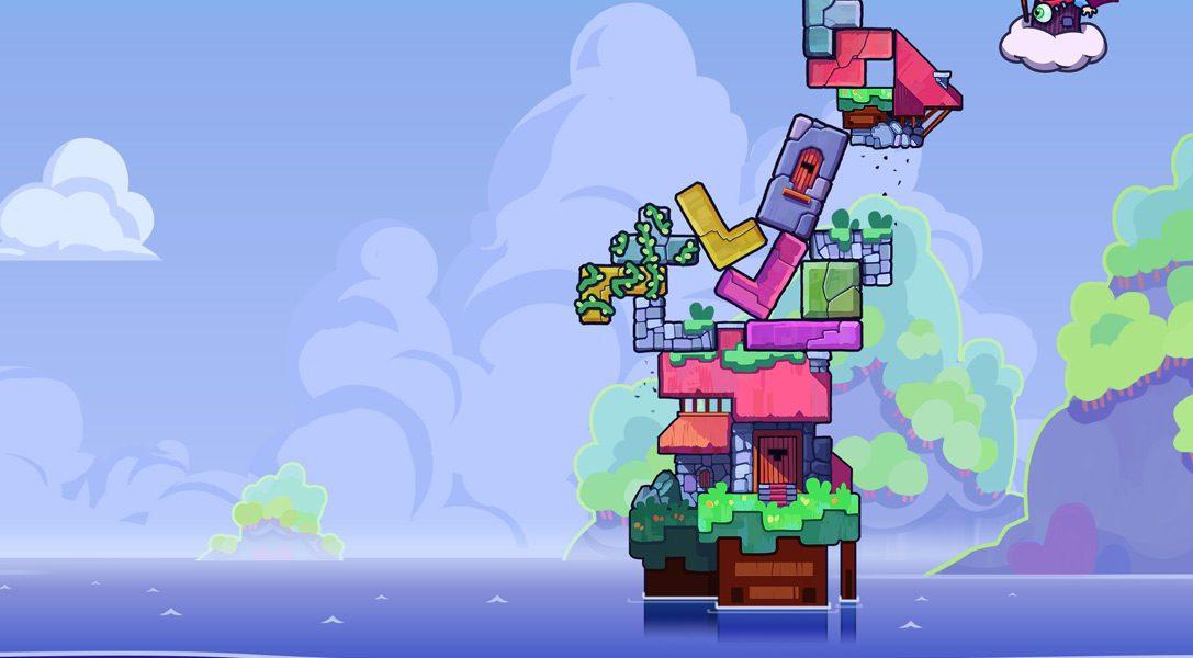 Le jeu d'action et de puzzle effréné Tricky Towers vient s'écraser sur PS4.