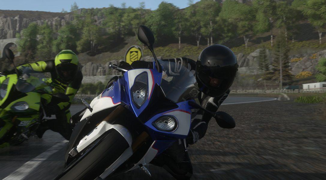 DRIVECLUB BIKES annoncé à la Paris Games Week, est désormais disponible sur PS Store !