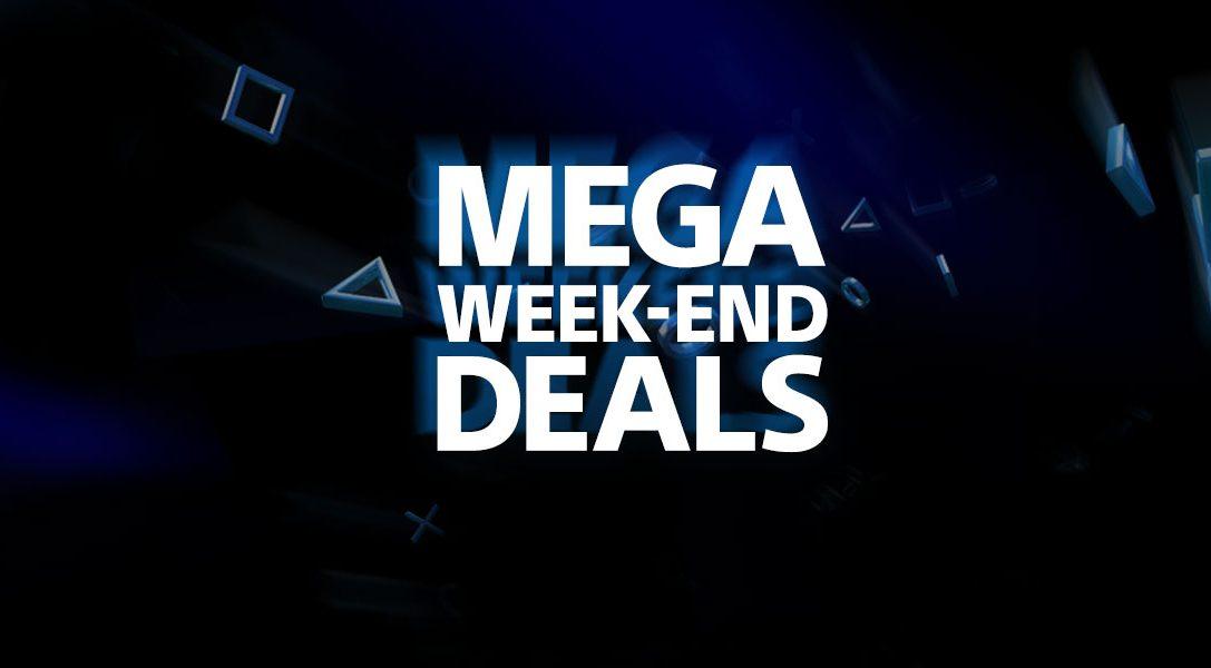 Les Mega Week-End Deals commencent aujourd'hui sur le PlayStation Store