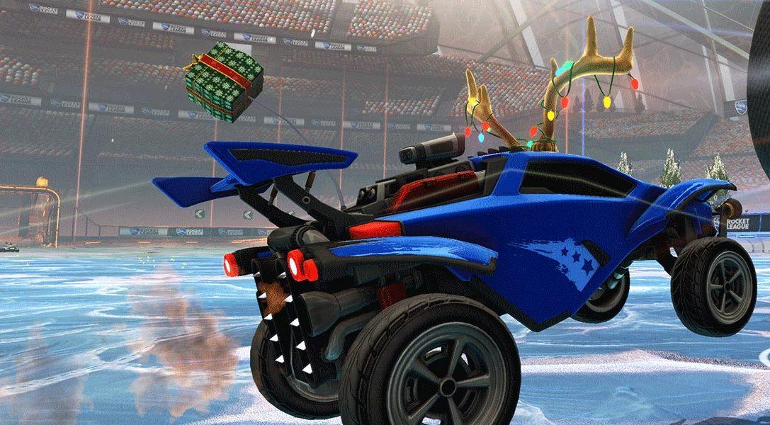 Rocket League propose des Jeux d'hiver gratuits le mois prochain