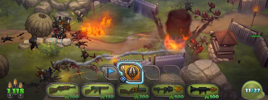 Le jeu de stratégie Guns Up! disponible gratuitement en téléchargement sur PS4 la semaine prochaine