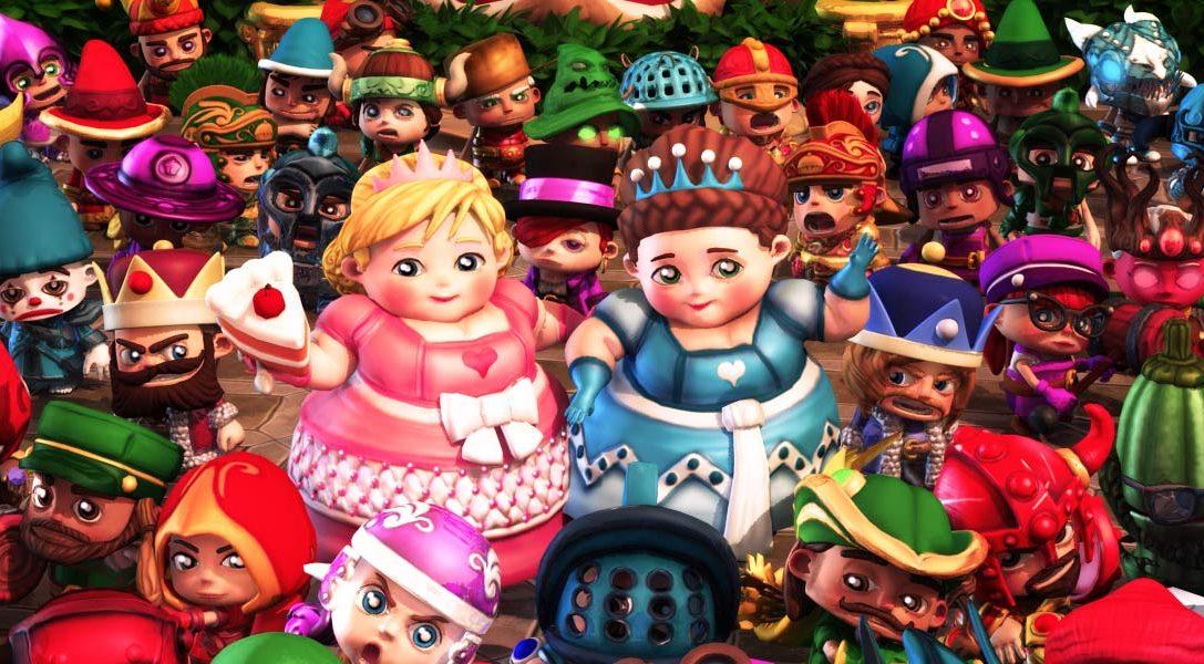 Surprise ! Fat Princess Adventures est maintenant disponible sur PlayStation Store