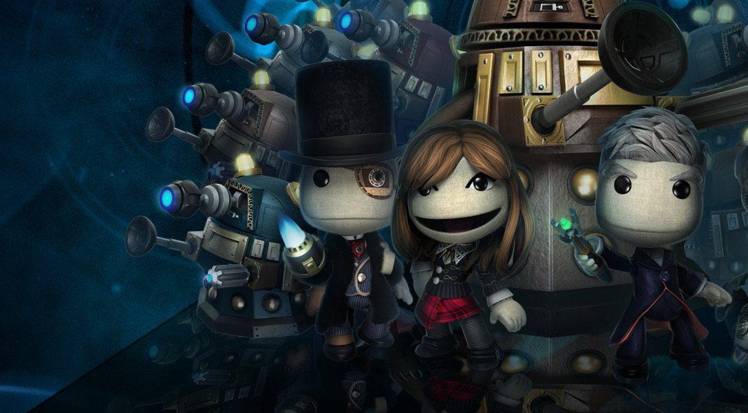 Doctor Who débarque dans LittleBigPlanet cette semaine