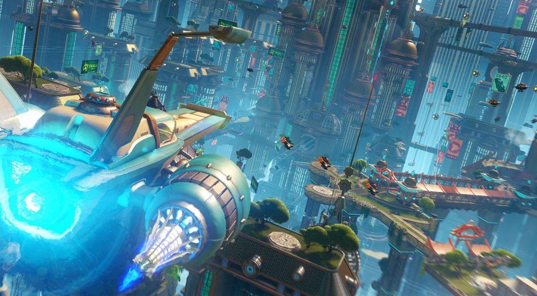Date de sortie confirmée pour Ratchet & Clank PS4, premier aperçu du boîtier