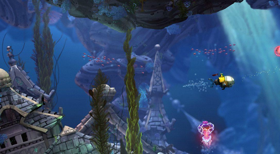 Plongez dans l'aventure Song of the Deep, le nouveau jeu d'Insomniac Games annoncé sur PS4