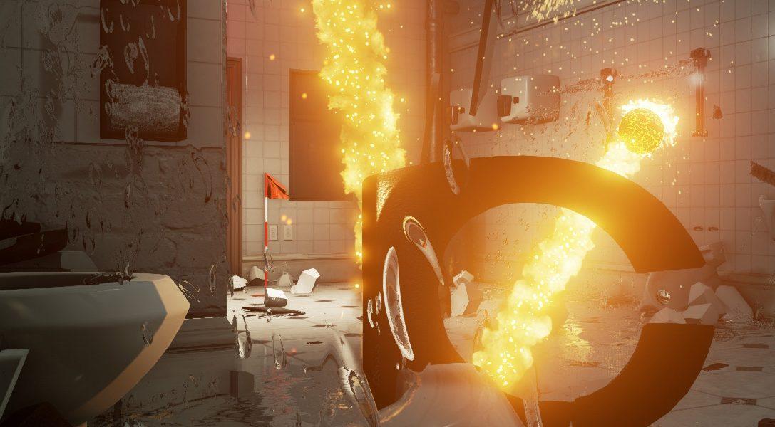 Les anciens développeurs de Burnout annoncent Dangerous Golf pour PS4