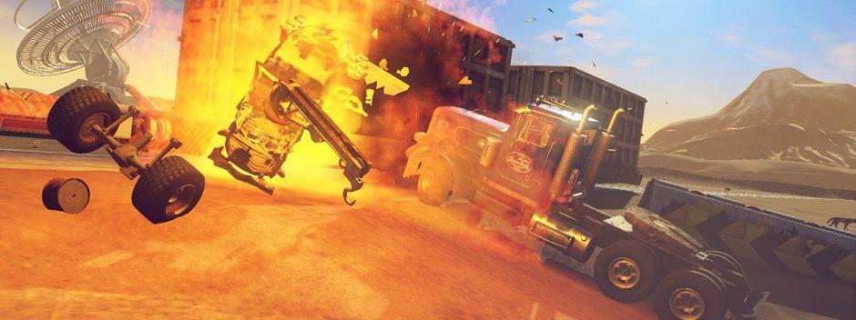 Carmageddon: Max Damage annoncé sur PS4