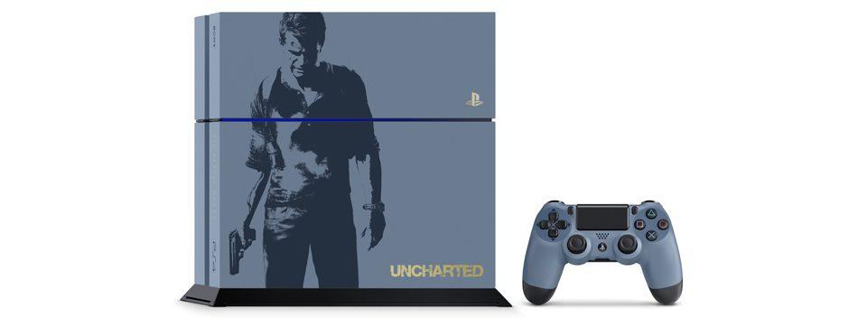 Le bundle PS4 en Edition Limitée Uncharted 4: A Thief's End annoncé