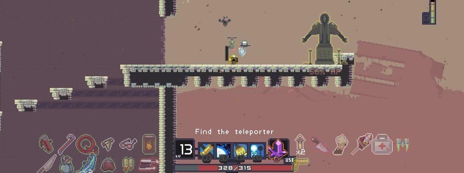 Le jeu de plateforme procédural Risk of Rain arrive sur PS4 et PS Vita
