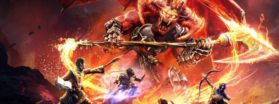 Sword Coast Legends apportera l'univers D&D sur PS4 dès ce printemps