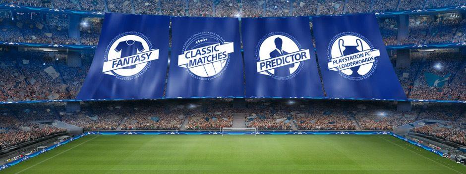 De nouvelles fonctionnalités pour l'Application UEFA Champions League PlayStation F.C.