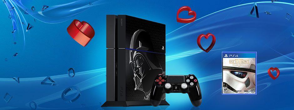 Fêtez la St Valentin avec PlayStation et gagnez peut-être une PS4 Collector Star Wars
