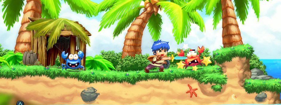 Un tout nouveau jeu Monster Boy débarque sur PS4 cette année