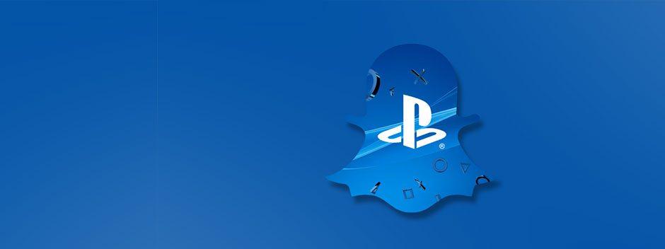 PlayStation France arrive aujourd'hui sur Snapchat !