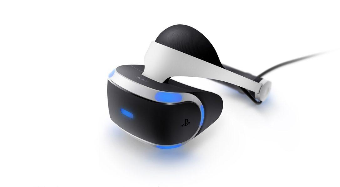 PlayStationVR disponible en octobre, au prix de 399,99 €