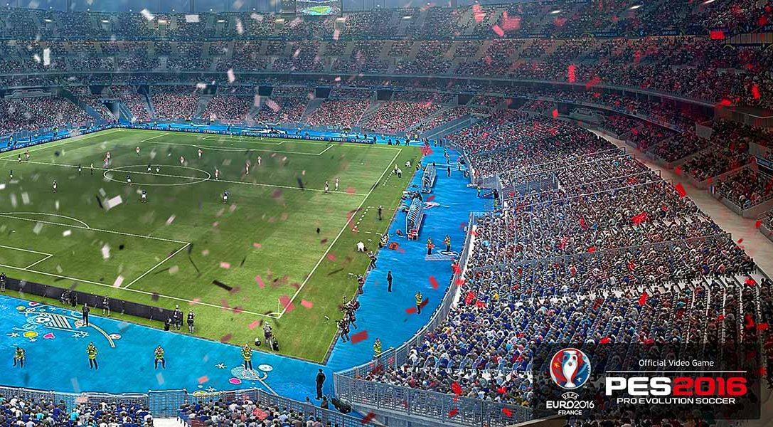 PES 2016 – UEFA Euro 2016 sort aujourd'hui sur PS3 et PS4