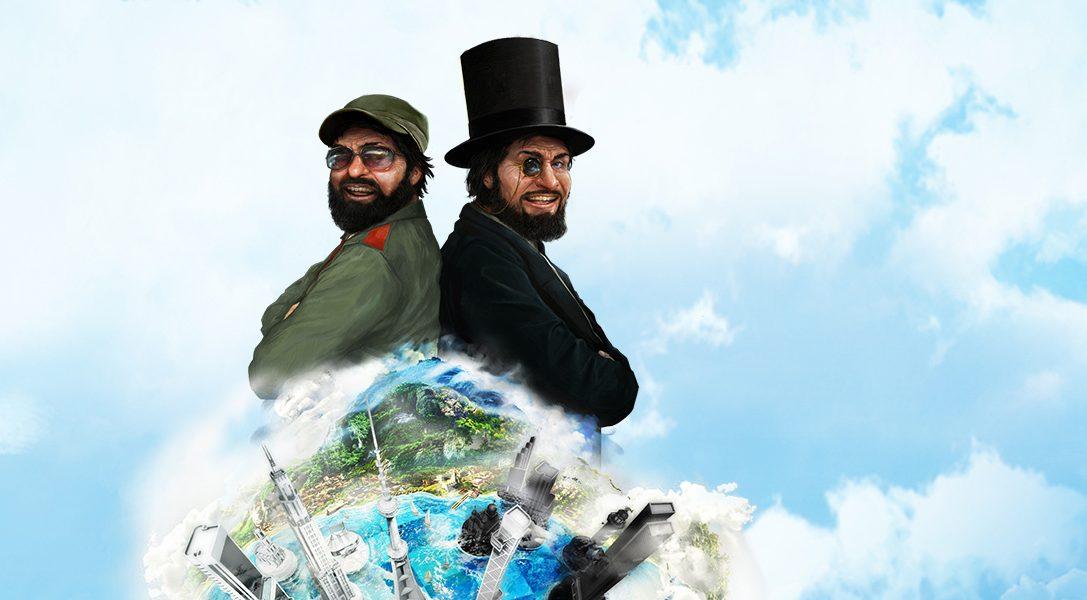 PlayStation Plus de mai : Tropico 5, Table Top Racing et bien plus