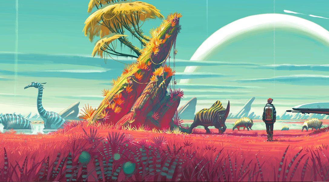 Comment les artistes de Hello Games ont conçu l'univers infini de No Man's Sky