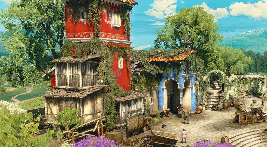 Comment l'équipe de The Witcher 3 a construit le duché de Toussaint pour la prochaine extension Blood & Wine