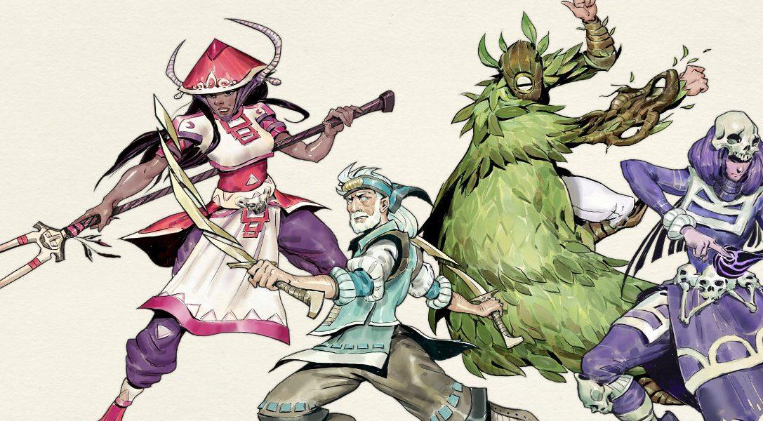Devenez une légende avec le jeu d'action-RPG Moon Hunters, disponible en juillet sur PS4