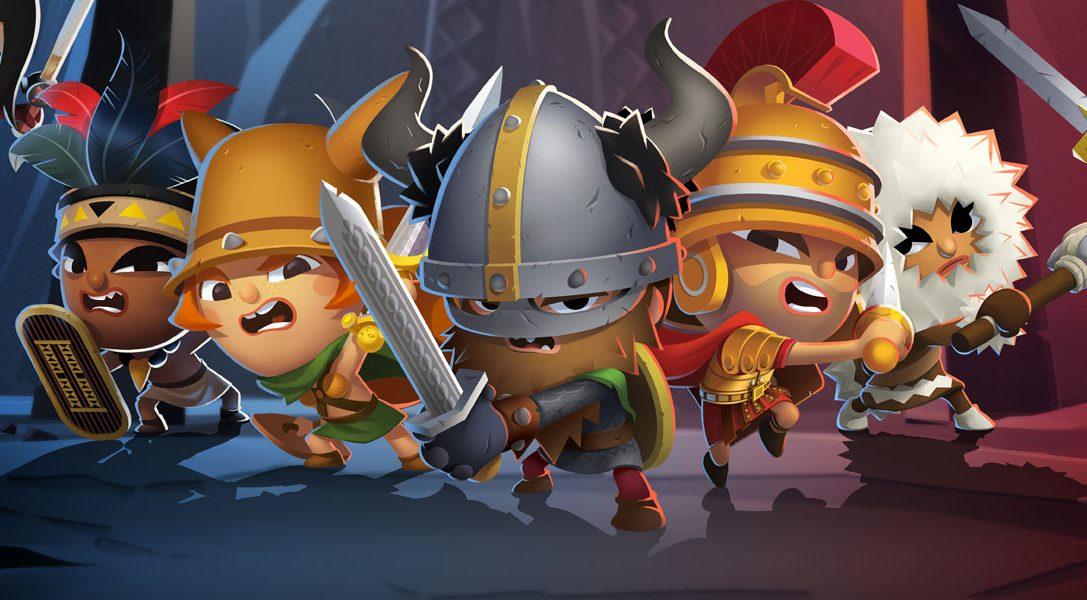 World of Warriors, par le créateur de Moshi Monsters, arrive sur PS4