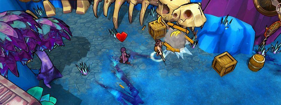 Lost Sea, le jeu d'aventure-exploration généré aléatoirement débarque sur PS4 le mois prochain