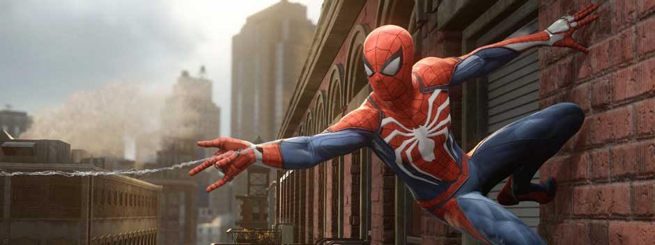 Le nouveau jeu Spider-Man d'Insomniac Games en exclusivité sur PS4