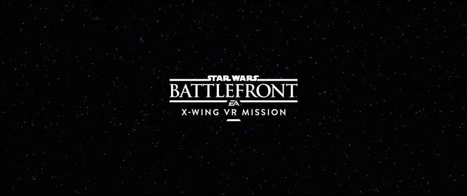 Star Wars Battlefront: X-Wing VR Mission présenté à l'E3, arrive en exclusivité sur PS VR