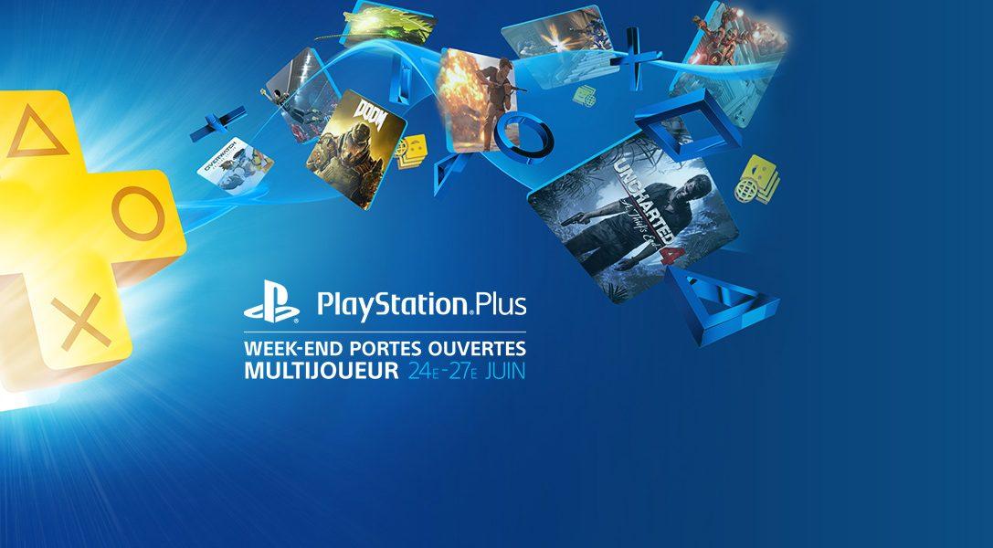 Lancement du week-end ouvert PlayStation Plus ce vendredi