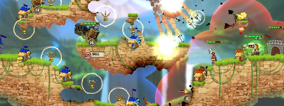 Cannon Brawl, jeu de stratégie 2D survolté en temps réel, sort sur PS4 le 3 août
