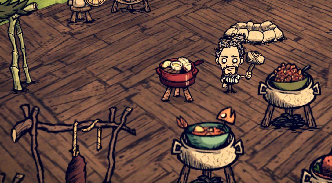 5 astuces pour survivre dans Don't Starve: Shipwrecked, qui sortira le 2 août sur PS4