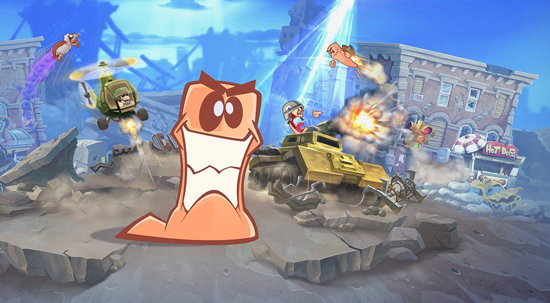 Worms W.M.D a calé la date du 23 août dans sa ligne de mire pour sa sortie sur PS4