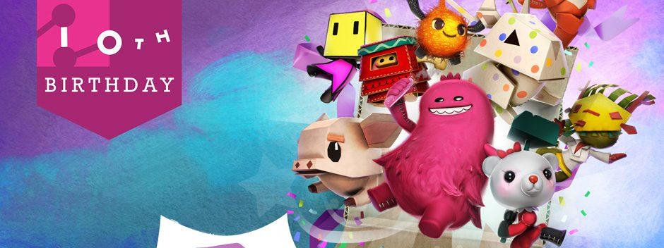 LittleBigPlanet 3 s'offre une imposante mise à jour de l'interface, un nouveau kit de niveau et le pack de tenues Anniversaire Mm