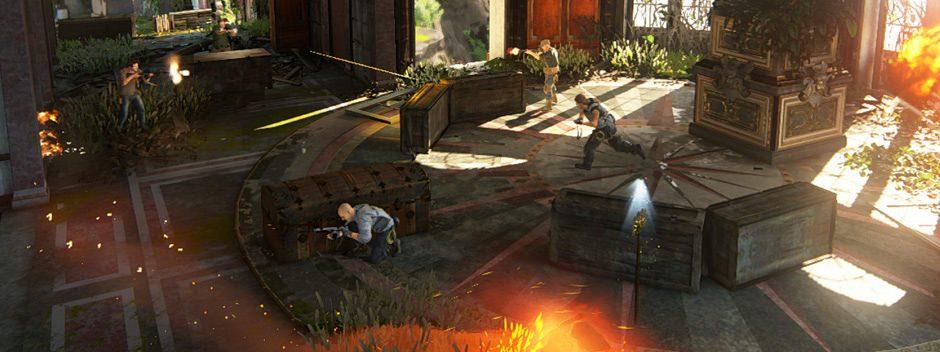Une nouvelle carte pour le multijoueur Uncharted 4 sera disponible demain
