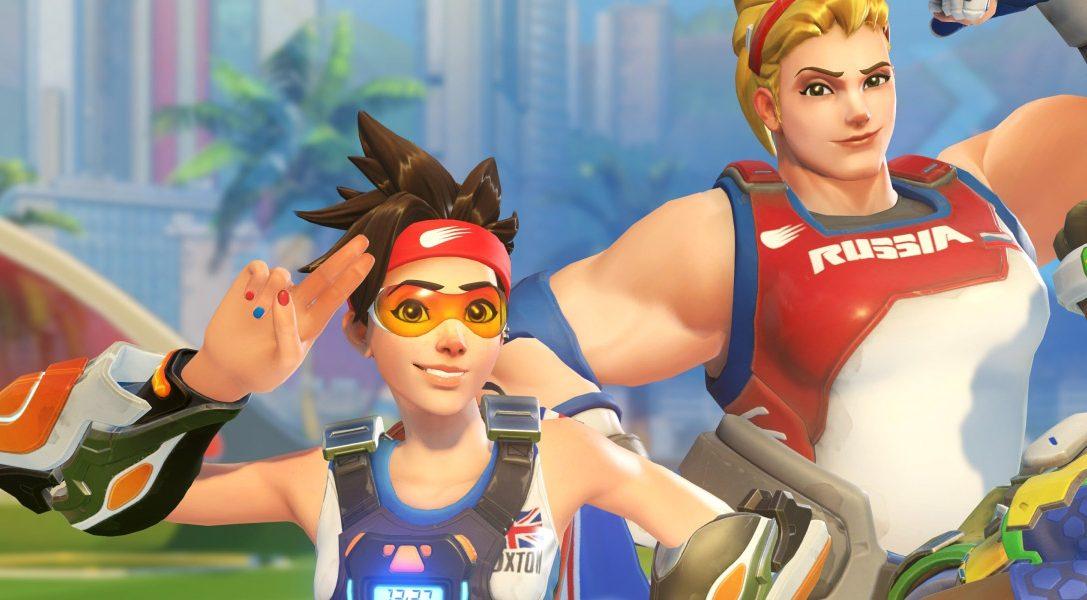 Célébrez les Jeux d'été d'Overwatch à partir d'aujourd'hui avec le Lúcioball