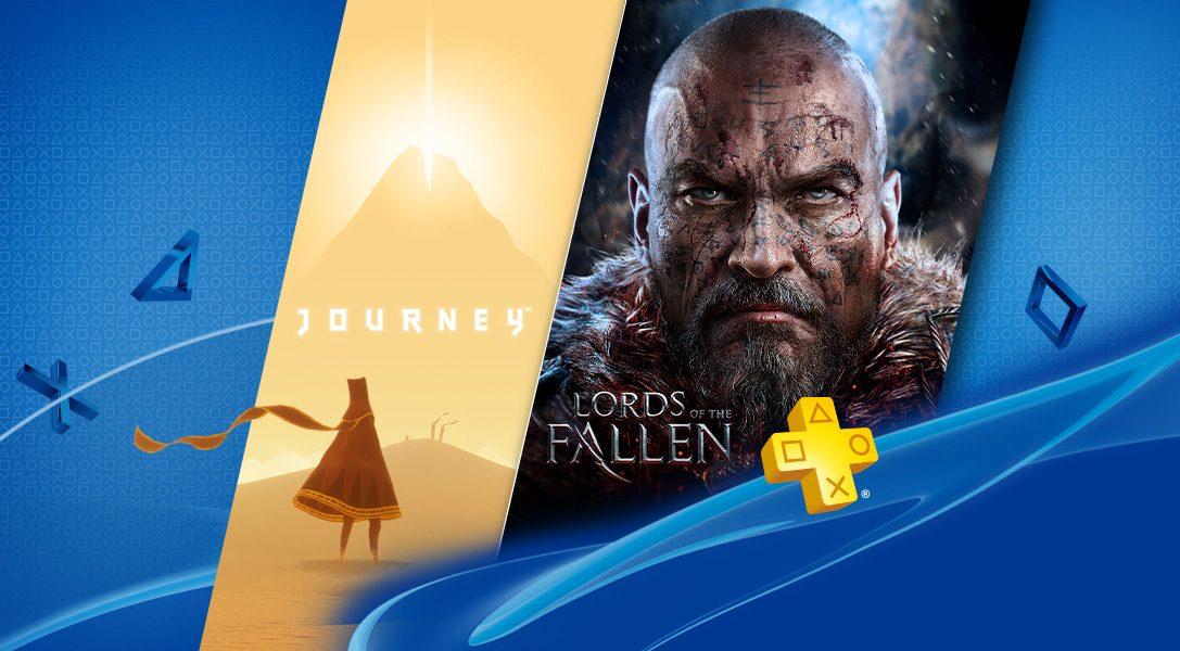PlayStation Plus de septembre : Journey et Lords of the Fallen
