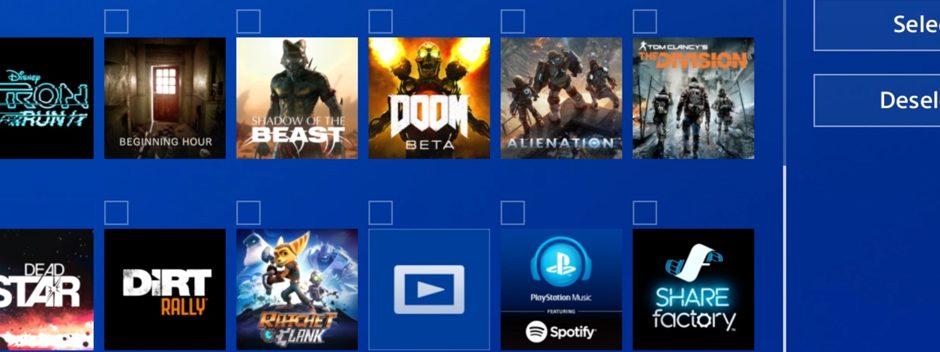 Découvrez comment trier vos jeux et apps avec les dossiers sur PS4