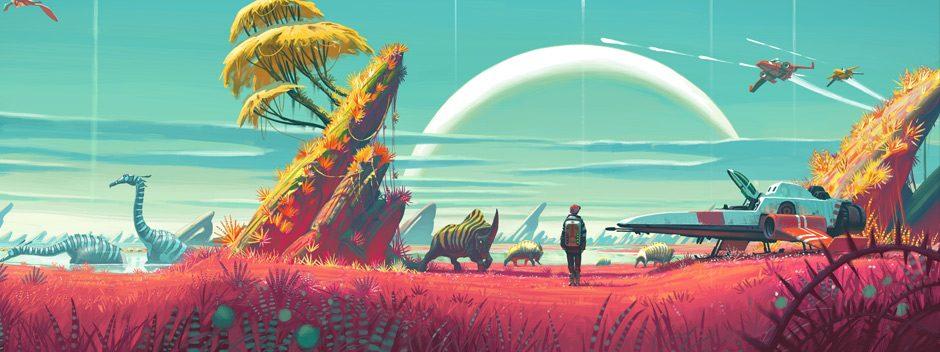 No Man's Sky était le jeu le plus vendu du mois d'août sur le PlayStation Store