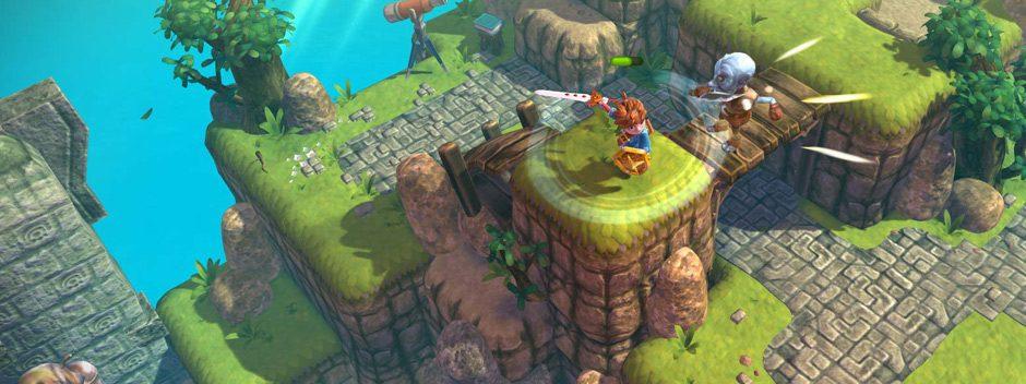 La merveilleuse histoire d'action-aventure Oceanhorn met le cap sur PS4 le 7 septembre