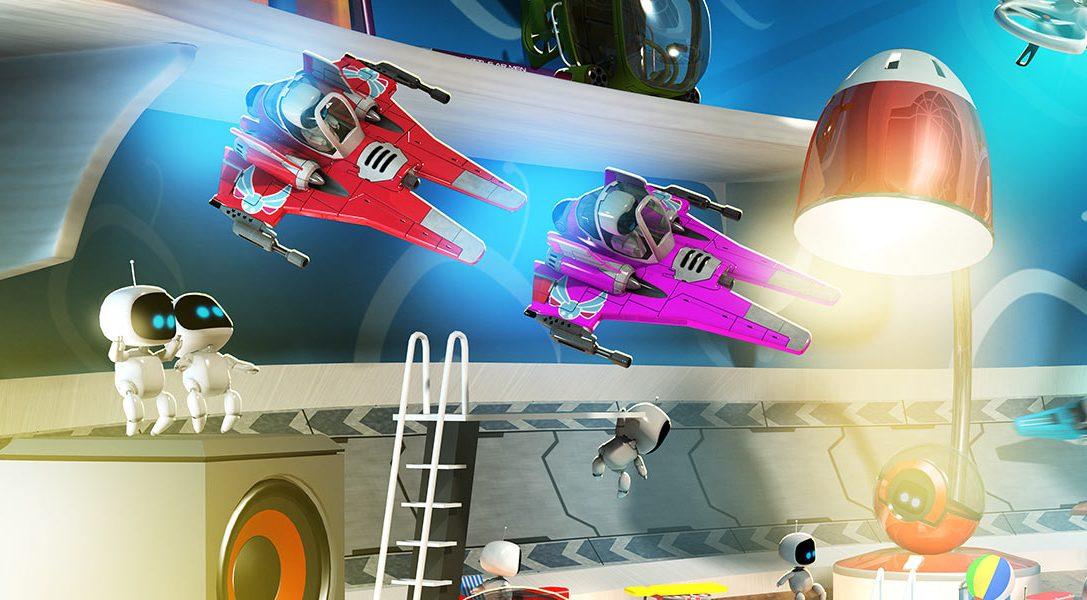 Dans les coulisses de The Playroom VR
