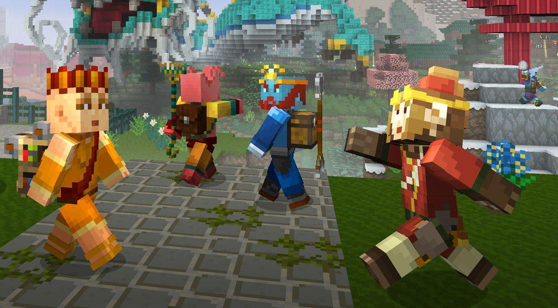 Explorez un monde ancien avec le pack mash-up «Mythologie chinoise» pour Minecraft