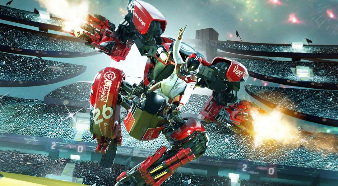 RIGS Mechanized Combat League est passé Gold