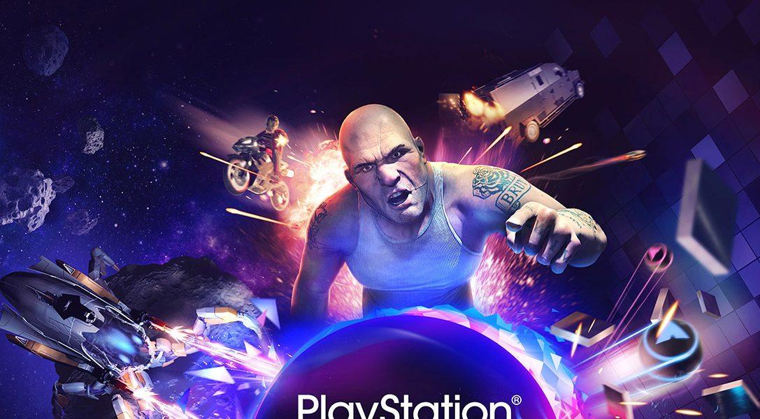 Un disque de démos fourni avec le PlayStation VR à sa sortie