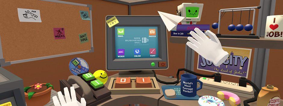 Jamais vous n'aurez autant aimé travailler qu'avec Job Simulator sur PlayStation VR