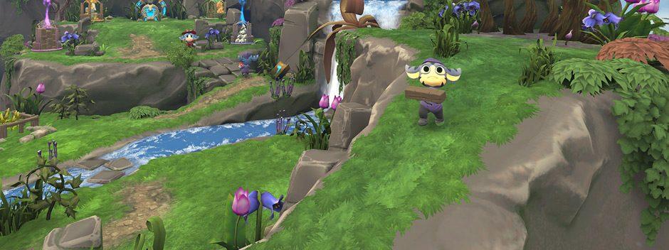 Tethered, le jeu immersif peint à la main où vous incarnez un dieu en VR, arrive sur PlayStation VR le 25 octobre