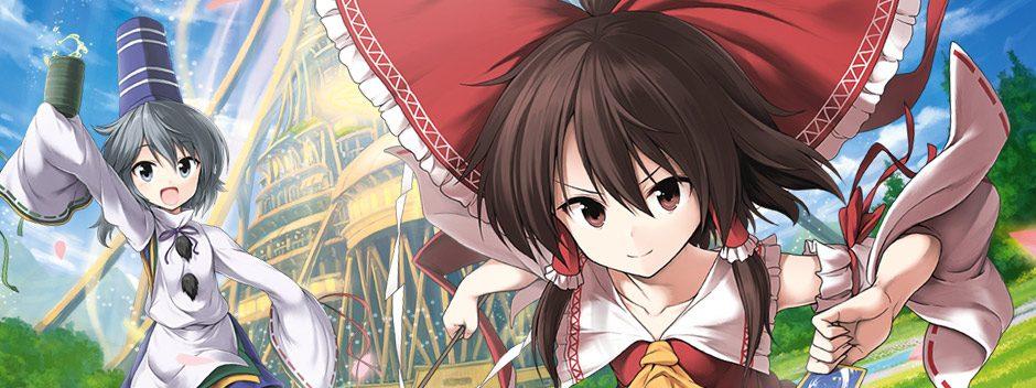 Touhou entrera dans l'arène des RPG rogue-like en février 2017, sur PS4 et PS Vita