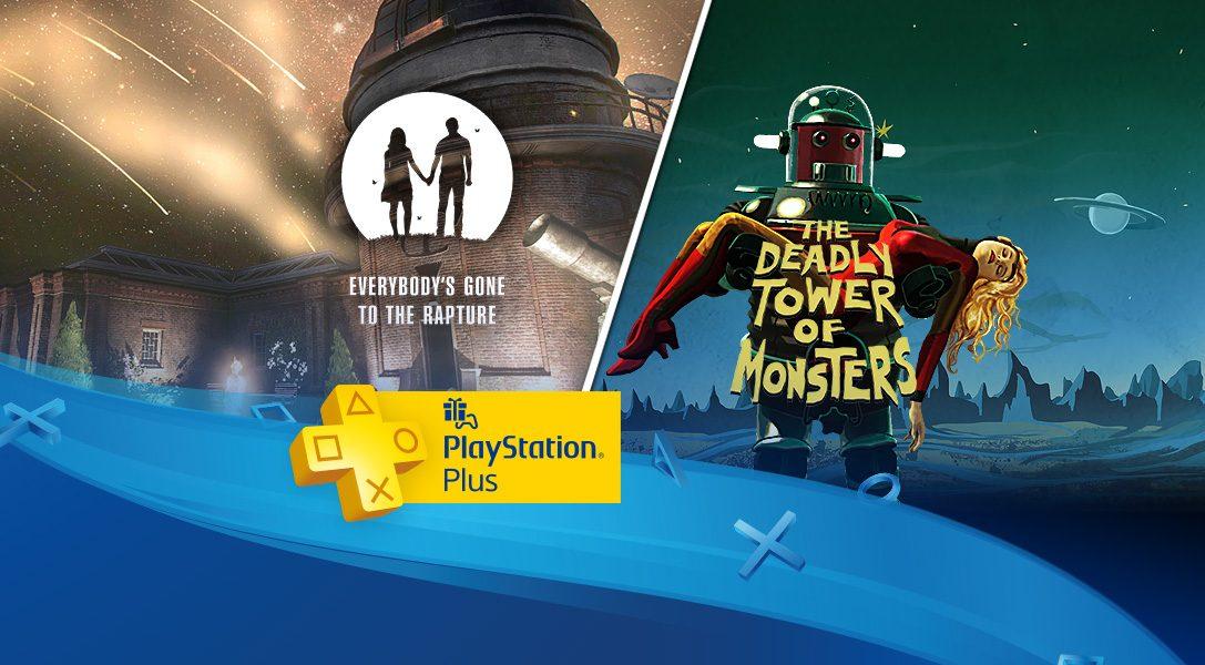 PlayStation plus de novembre : Everybody's Gone To The Rapture en tête d'affiche
