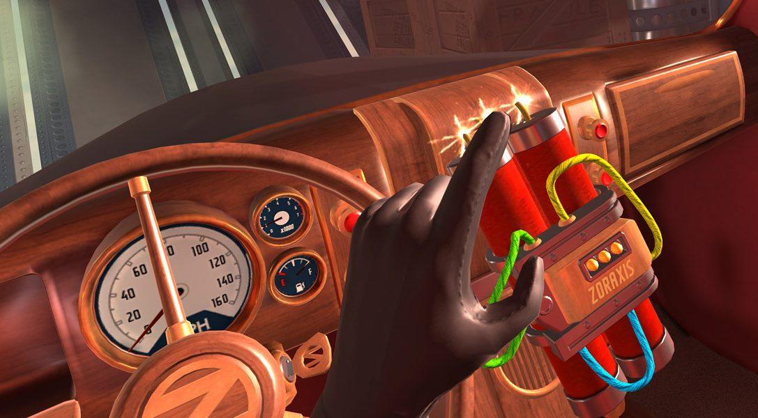 La mort est omniprésente dans I Expect You To Die, un jeu d'espionnage pour PlayStation VR qui sortira en décembre