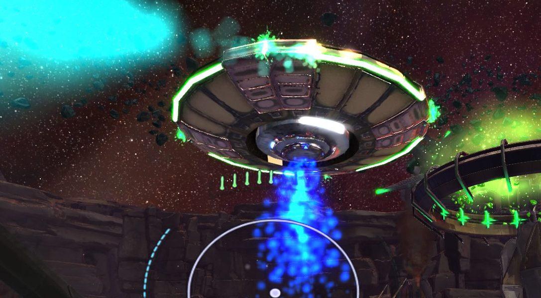 Super Stardust Ultra VR s'ajoute au line-up de lancement du PlayStation VR